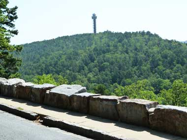 Hot Springs Arkansas West Mountain Scenic Drive Through Hot