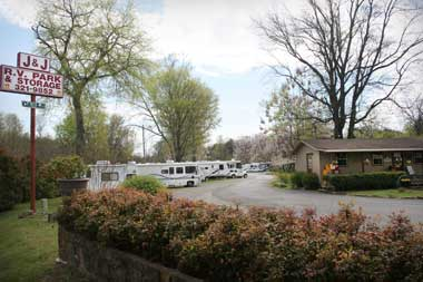 JJ RV Park Hot Springs Arkansas