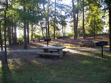 Hot Springs Mountain Picnic Area, Hot Springs National Park, Arkansas